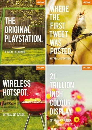 Nice campaign for Stihl