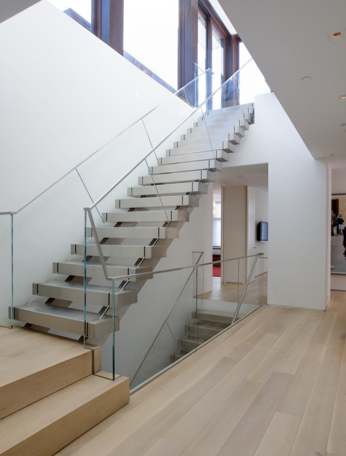 Best Clear Side Railing On Stairs 640 x 480