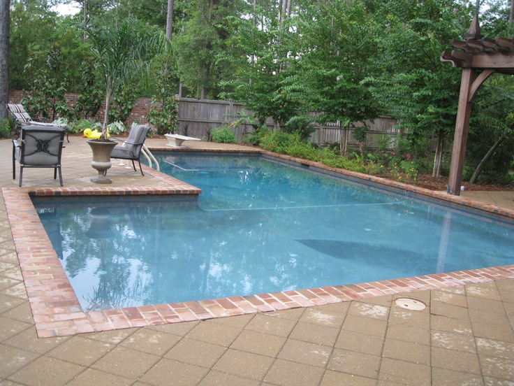 Gunite Swimming Pool Outdoor Living Pools Pinterest