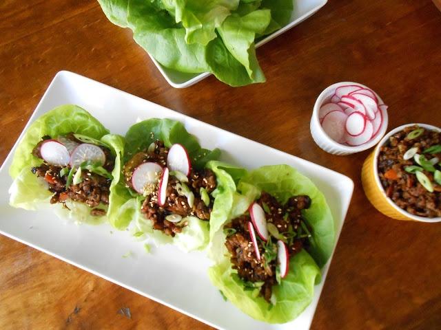 Hoisin Lettuce Wraps | Deliciously Vegan | Pinterest