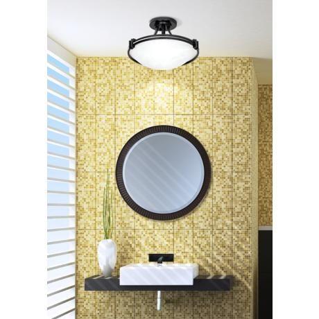 "Possini Euro Design 16"" Wide Ceiling Light Fixture"