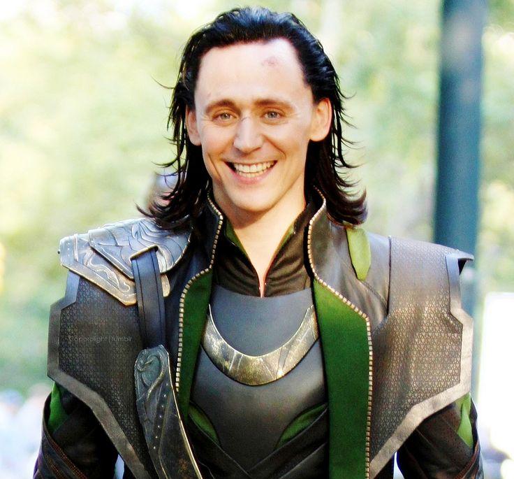 Loki smile! | Obsessions | Pinterest