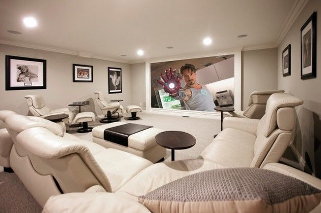 22 contemporary media room design ideas basement pinterest