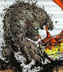 Image Comics' version of The Heap (vs. Spawn)