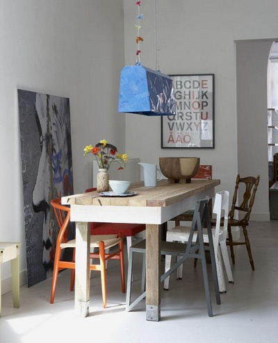 Mismatched Chairs Same Time Different Place Pinterest