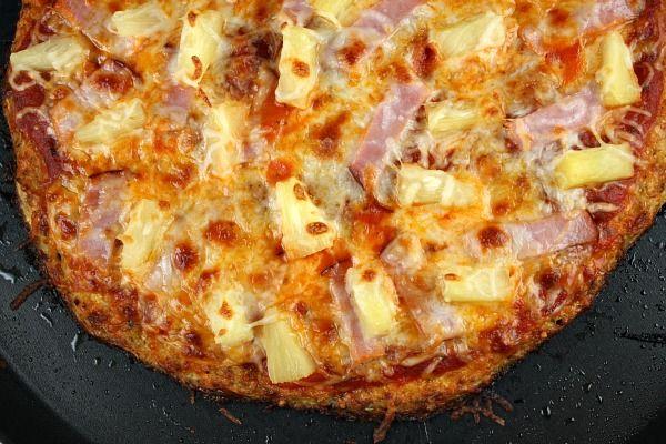 Cauliflower Crust Pizza - it's SO delicious!