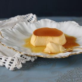 classic Creme Caramel with a light, silky custard doused in sweet ...