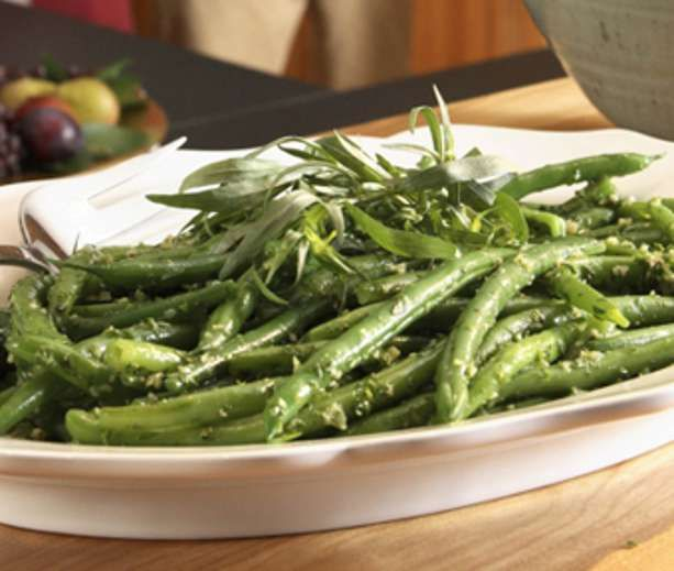 Garlicky Green Beans | Low Carb & Low Calorie Savory | Pinterest