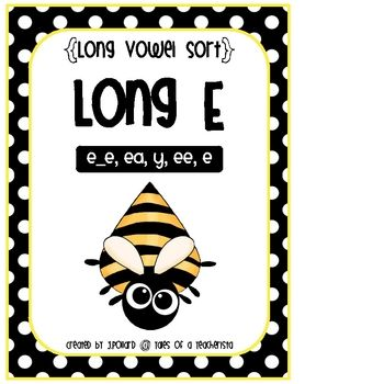 Long Vowel Word Sort {Long E}