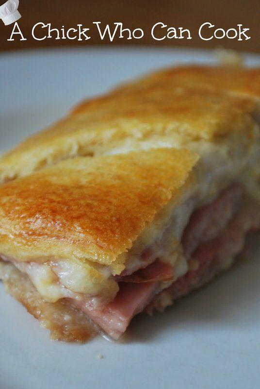 Ham  Swiss Crescent Rolls