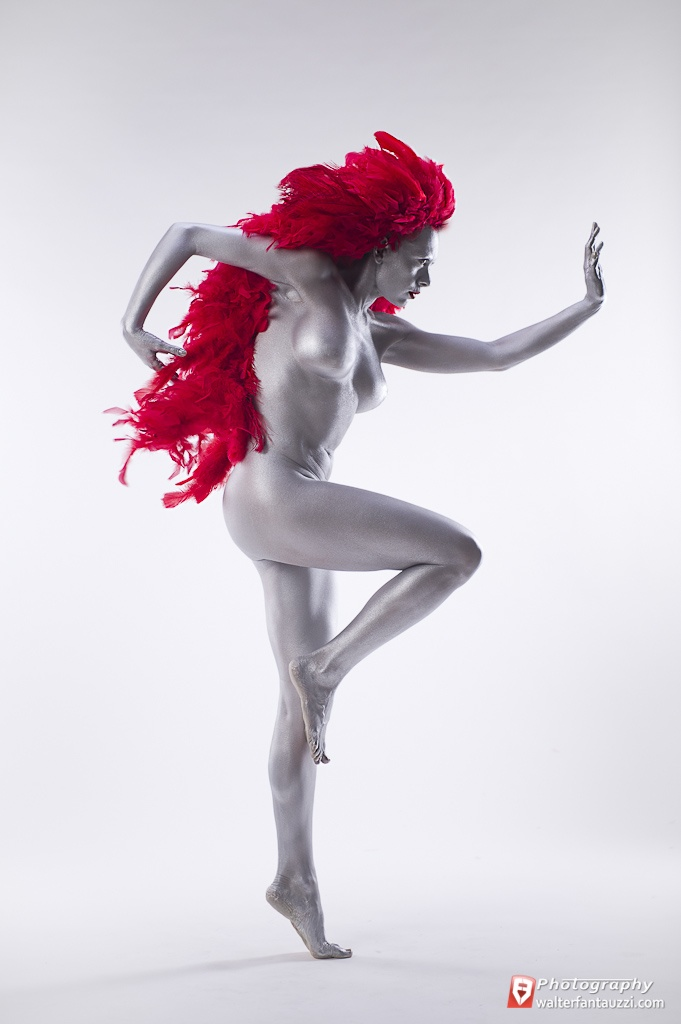 My personal Photo Projects - The Feathers of God - RED PASSION