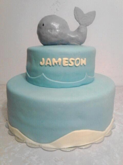 whale baby shower cake amber 39 s sweet treats pinterest