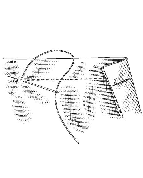 Basic Hand Knitting Stitches : basic hand-sewing stitches