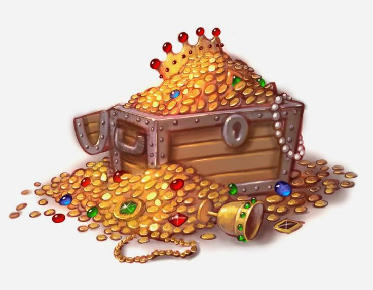 treasure chest | Illustrations | Pinterest