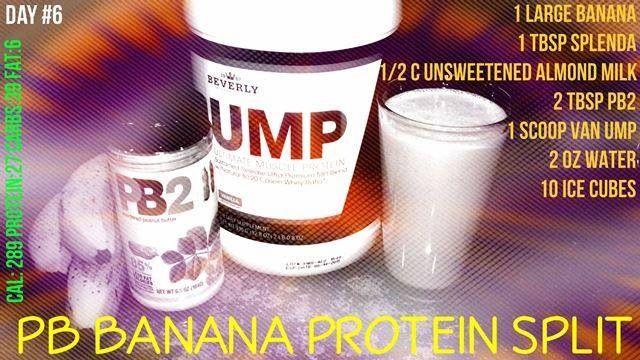 ... Banana Protein Split - Beverly International UMP Protein Shake Recipe