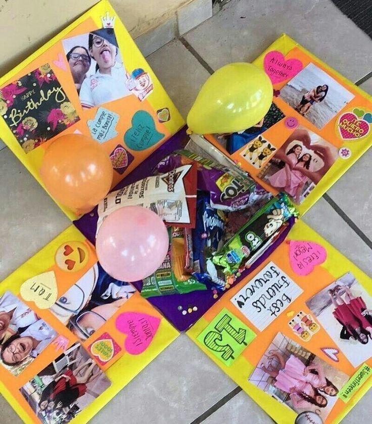 Креативное подарки с днем рождения подруге 676