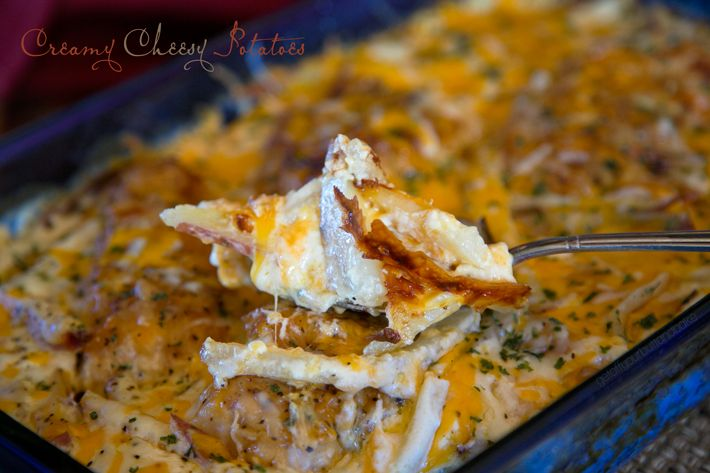 Creamy Cheesy Potatoes | Co-Stars of the Plate (Side Dishes) | Pinter ...