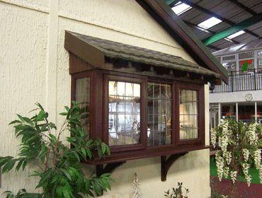 Shingled Roof Over Box Window Master Suite Pinterest