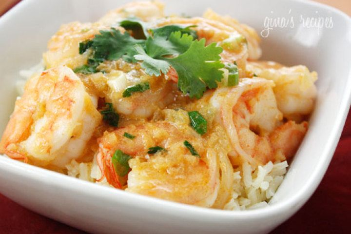 Thai Coconut Curry Shrimp   Recipes   Pinterest