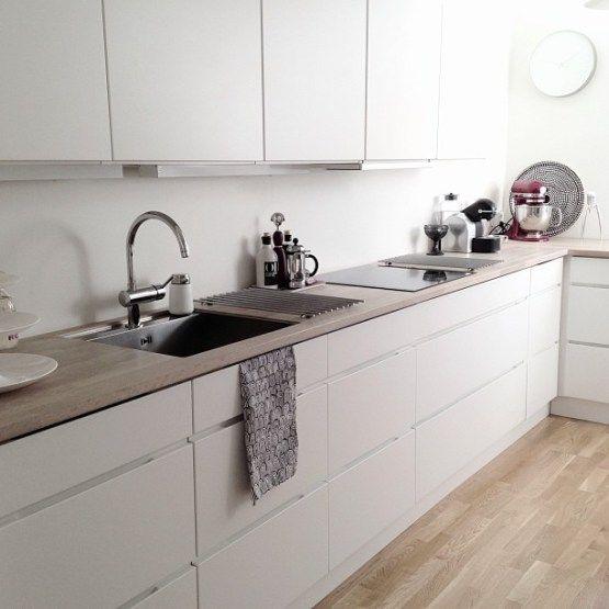 La vita stessa deco cocina con o sin azulejos - Azulejos para cocinas blancas ...