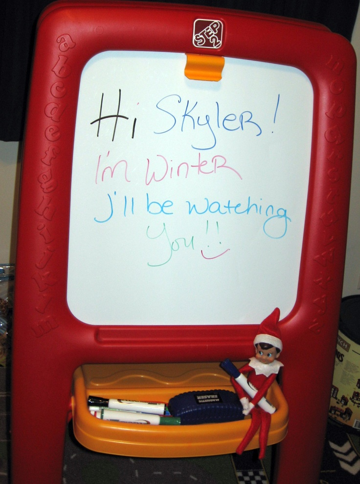 Welcome Letter lol | Elf On The Shelf | Pinterest