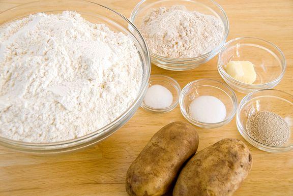 tender potato bread recipe | use real butter