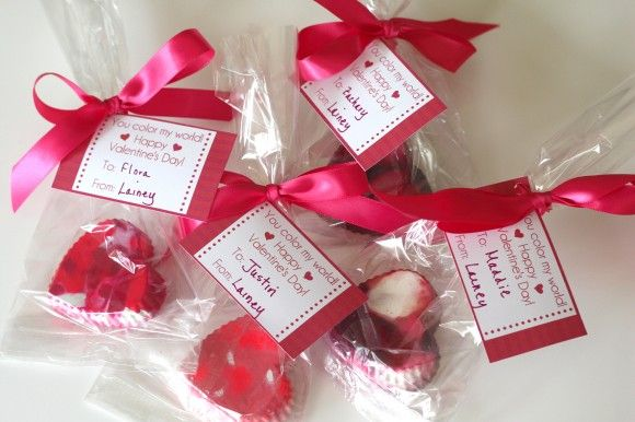 ... Valentine's Day Heart Crayons with Free Printable Tags | Catch My