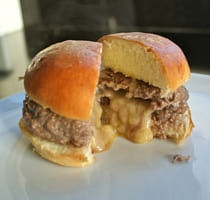"Juicy Lucy"" Burger Cupcakes Recipes — Dishmaps"
