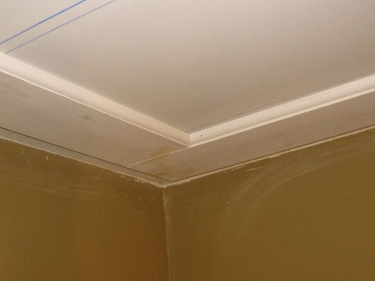 flat ceiling trim like 235 frisbie yellow house