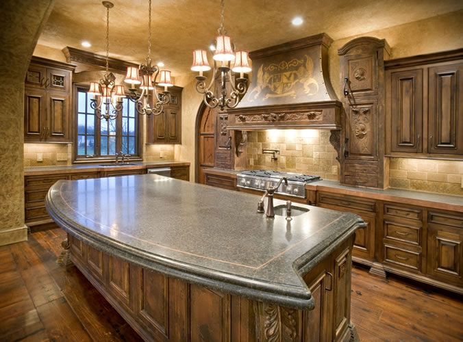 Ramsey building old world tuscan tuscan infused design for Old world tuscan kitchen designs