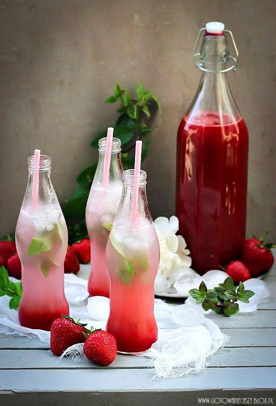 Strawberry and Rhubarb Syrup   Liquid Refreshments   Pinterest