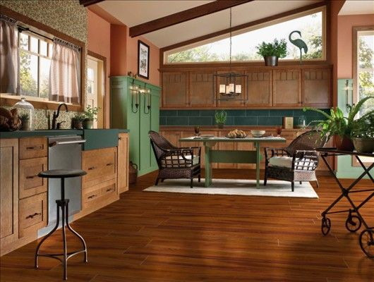 Exotic Fruitwood Persimmon Kitchen Pinterest