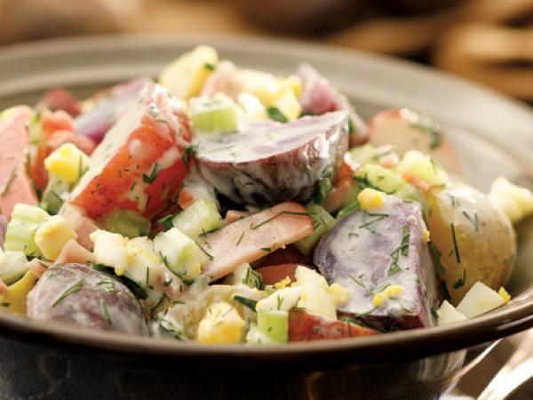 salad with country potato salad homestyle potato salad cheddar bacon ...