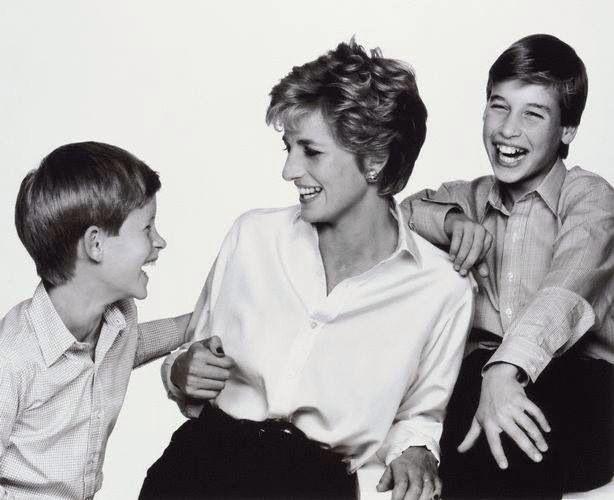 Princess Diana And Her Boys Princess Diana Pinterest
