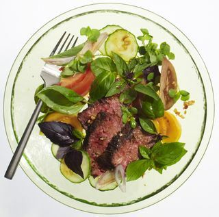 Spicy Basil-Beef Salad | Nosh I'd Like to Try: Salads | Pinterest