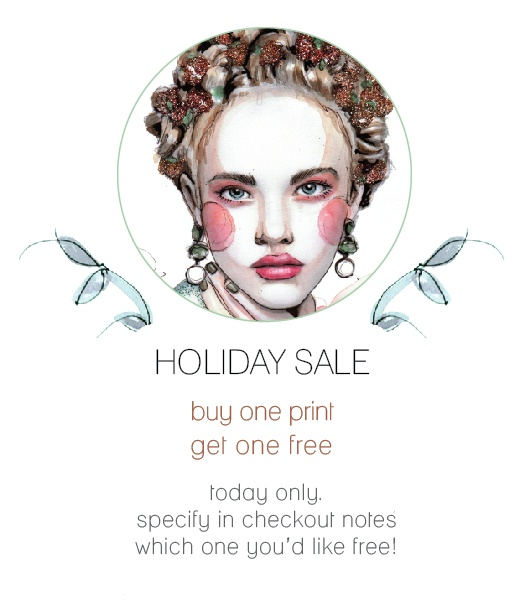 Sale Today! http://www.paperfashionshop.etsy.com