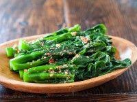 Chinese Broccoli Garlicy Ginger Miso Sauce Recipe | Steamy Kitchen ...