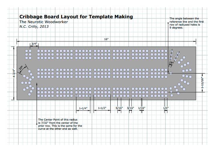 standard size cribbage board templates game board 2017