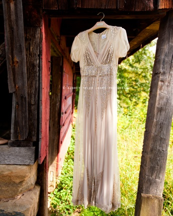 Wedding dress from bhldn © audrey tyler jones photography www