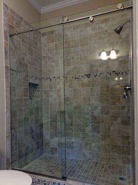 Frameless Shower Doors For The Home Pinterest