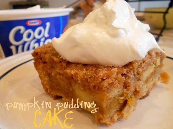 Pumpkin Pudding Cake | Cakes | Pinterest