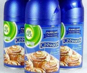 Cinnabon Scented Air Fresheners - Make your home smell just like ...