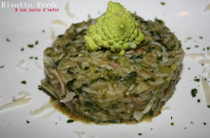 Risotto verde | Les delices de letiss | Pinterest