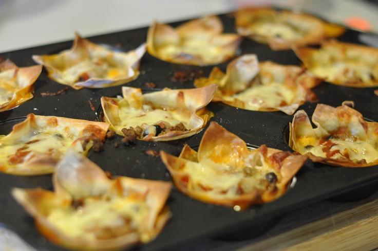 Taco cupcakes | Favorite Recipes | Pinterest