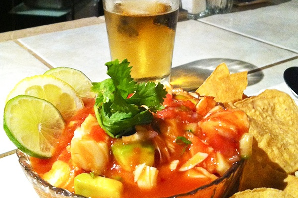Shrimp & Lobster Ceviche | Cafe O'Lei | Pinterest