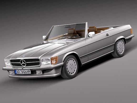 Mercedes sl 80s 4 wheels pinterest for Mercedes benz 80s