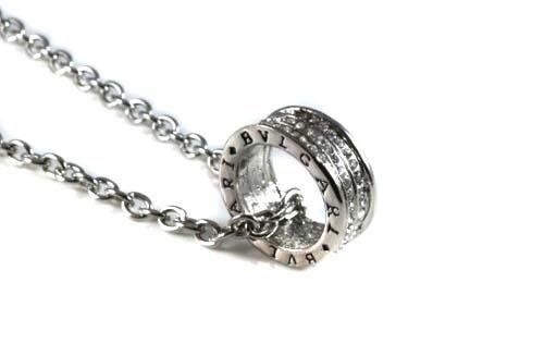 bvlgari silver ring necklace 41 00 bvlgari necklace