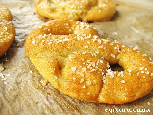 Gluten-Free Soft Pretzels | Queen of Quinoa