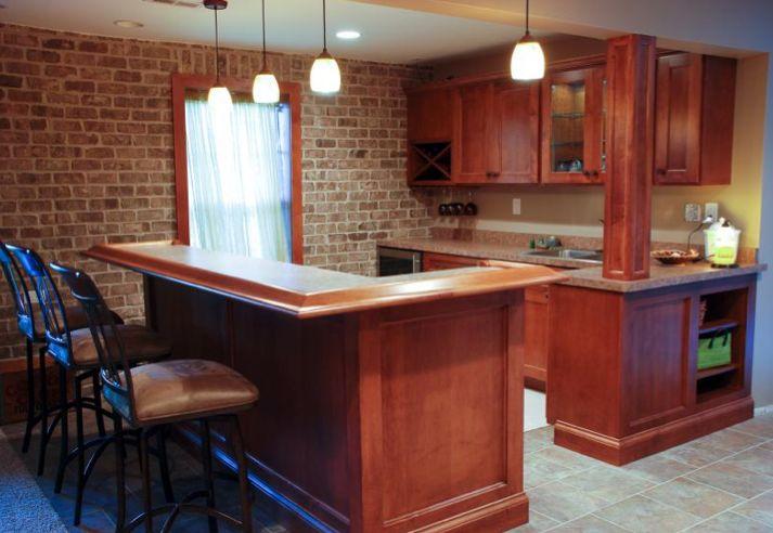 Custom home bar for the home pinterest - Custom bars for homes ...