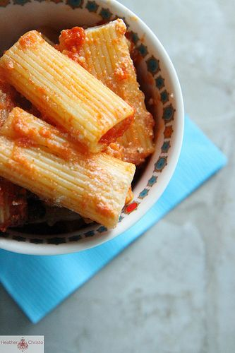 Skillet Baked Stuffed Rigatoni by Heather Christo, via Flickr